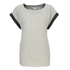 Saint Tropez blouse u1025 in het Offwhite