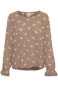 Saint Tropez blouse u1075 in het Camel