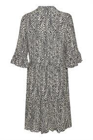Saint Tropez jurk 30510220 in het Wit/Blauw
