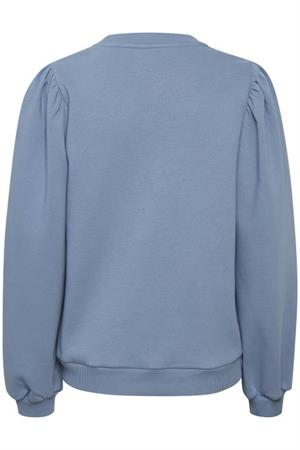 Saint Tropez sweater 30511452 in het Hemels Blauw