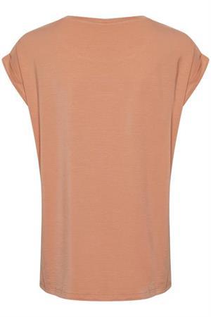Saint Tropez t-shirts 30501441 in het Brique