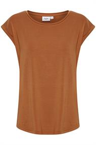 Saint Tropez t-shirts 30501441 in het Camel