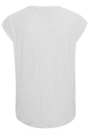 Saint Tropez t-shirts 30501441 in het Offwhite