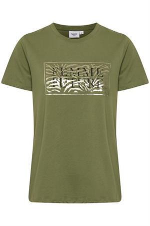 Saint Tropez t-shirts 30511155 in het Groen