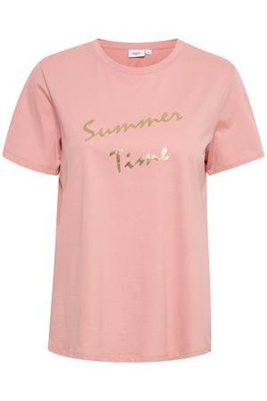 Saint Tropez t-shirts 30511196 in het Oud Roze