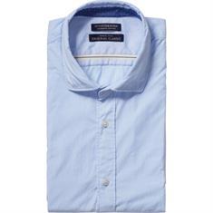 Scotch & Soda casual overhemd 101439 in het Licht Blauw