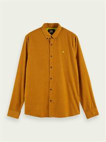 Scotch & Soda casual overhemd 158428 in het Beige