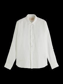 Scotch & Soda casual overhemd 160775 in het Wit
