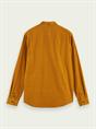 Scotch & Soda casual overhemd Slim Fit 158428 in het Beige