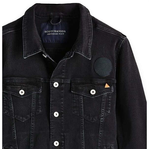 Scotch & Soda jacks 148578 in het Zwart