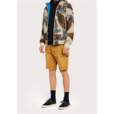 Scotch & Soda jacks Slim Fit 148715 in het Grijs Melange