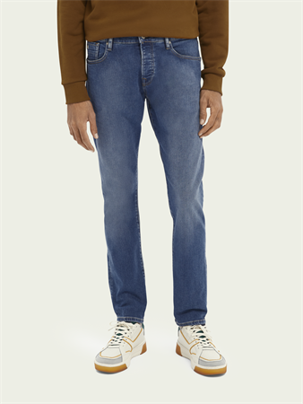Scotch & Soda jeans 160437 in het Stonewash