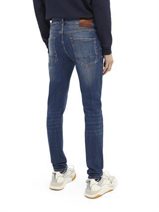 Scotch & Soda jeans 160631 in het Blauw