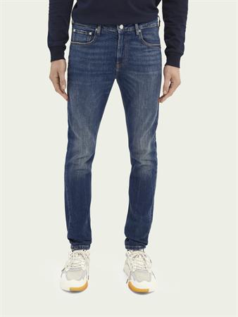Scotch & Soda jeans 160631 in het Stonewash