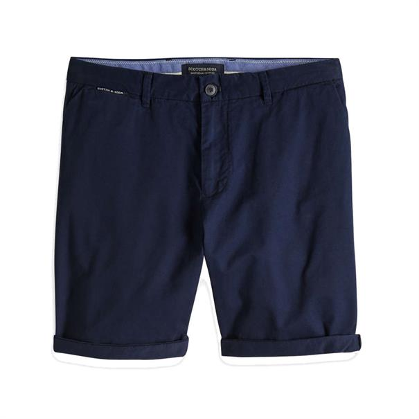 Scotch & Soda jeans Chino 148907 in het Donker Blauw