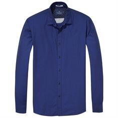 Scotch & Soda overhemd 139600 in het Blauw
