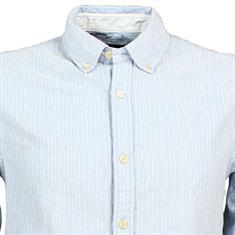 Scotch & Soda overhemd 144155 in het Licht Blauw
