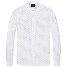 Scotch & Soda overhemd 147424 in het Wit