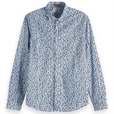 Scotch & Soda overhemd 150491 in het Licht Blauw