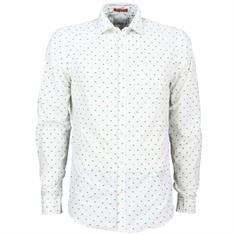 Scotch & Soda overhemd 150491 in het Wit/Groen
