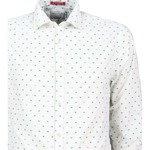 Scotch & Soda overhemd 150491 in het Wit/Groen