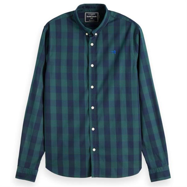 Scotch & Soda overhemd 152152 in het Groen