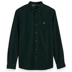 Scotch & Soda overhemd 152155 in het Donker Groen