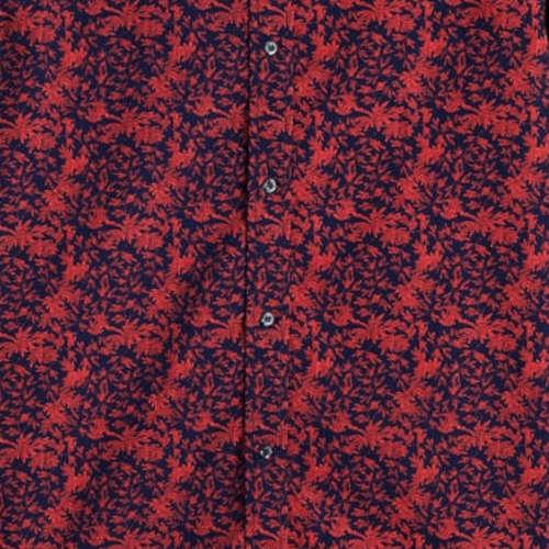 Scotch & Soda overhemd 152184 in het Donker Blauw