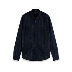 Scotch & Soda overhemd 152188 in het Donker Blauw