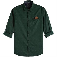 Scotch & Soda overhemd Slim Fit 145371 in het Mint Groen