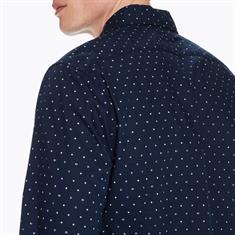 Scotch & Soda overhemd Slim Fit 147424 in het Donker Blauw