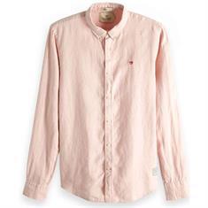 Scotch & Soda overhemd Slim Fit 148849 in het Zalm