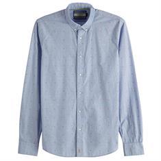 Scotch & Soda overhemd Slim Fit 148851 in het Blauw