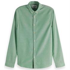 Scotch & Soda overhemd Slim Fit 150494 in het Army