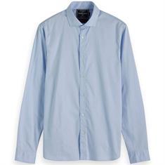 Scotch & Soda overhemd Slim Fit 152156 in het Donker Blauw