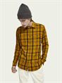 Scotch & Soda overhemd Slim Fit 158424 in het Oker