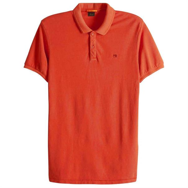 Scotch & Soda polo's 149084 in het Koraal