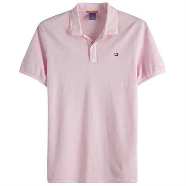 Scotch & Soda polo's 149084 in het Roze