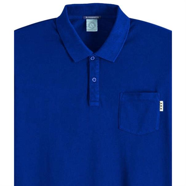 Scotch & Soda polo's 150553 in het Kobalt