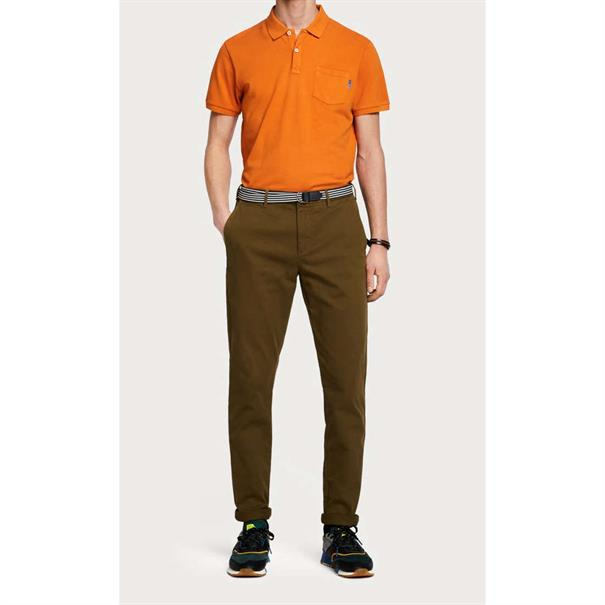 Scotch & Soda polo's 150553 in het Oranje