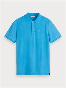 Scotch & Soda polo's 155461 in het Marine