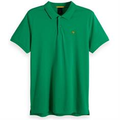 Scotch & Soda polo's Slim Fit 149073 in het Groen