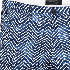 Scotch & Soda shorts 142431 in het Wit/Blauw