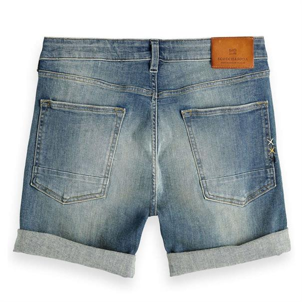 Scotch & Soda shorts 148666 in het Blauw