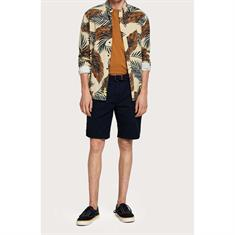 Scotch & Soda shorts Chino 148907 in het Donker Blauw
