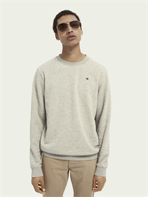 Scotch & Soda sweater 153656 in het Grijs Melange