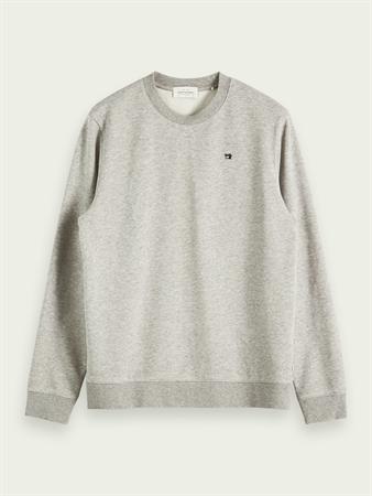 Scotch & Soda sweater 153656 in het Grijs Melange