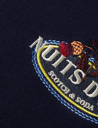 Scotch & Soda sweater 160811 in het Donker Blauw