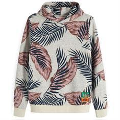 Scotch & Soda sweater Slim Fit 148968 in het Grijs Melange