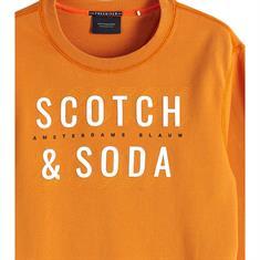 Scotch & Soda sweater Slim Fit 150525 in het Oranje